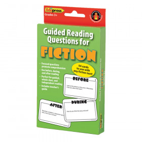 Guided Reading Questions for Fiction Card Set, 54/pkg