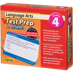 Language Arts Gr 4 Test Prep In A Flash
