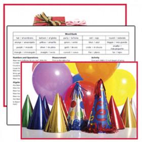 Celebrations Literacy Cards