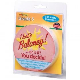 Thats Baloney Game Gr 5