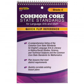 Gr 4 Quick Flip For Common Core Standards