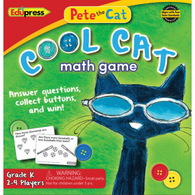 Pete The Cat Cool Cat Math Game G-K