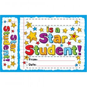 Star Student Doodles Bookmark Award