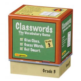 Classwords Vocabulary Game, Grade 3