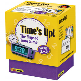 Times Up Elapsed Time Game Gr 2-3