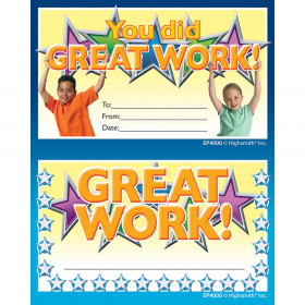 Great Work Punch Card Award