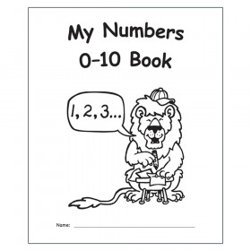 My Own Books: My Numbers 0-10 Book