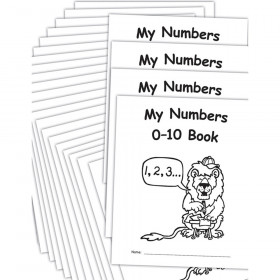 My Own Books: My Numbers 0-10 Book, 25-Pack