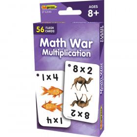 Math War (Multiplication) Flash Cards