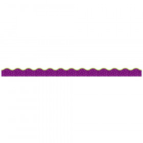 Purple Scales Simply Border