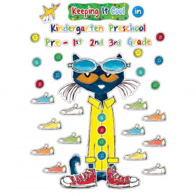Pete The Cat Keeping It Cool Bulletin Board Set