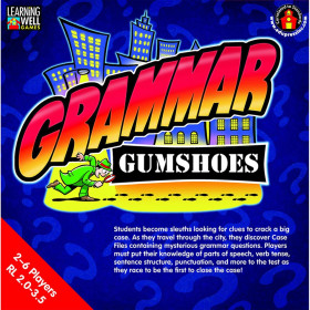 Grammar Gumshoes Red Level