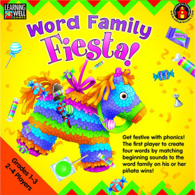 Word Family Fiesta 2-3 Letter Word Families