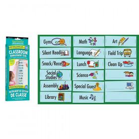 Grade 1-7 Classroom Visual Daily Schedule