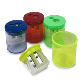 Two Hole Pencil Sharpener 1 Each