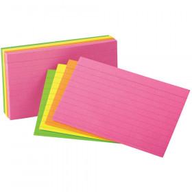 Oxford Glow Index Cards 3X5