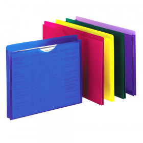 Pendaflex Poly File Jackets, Letter Size, 10 count