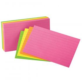 """Oxford Glow Index Cards, 4"""" x 6"""""""