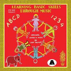 Learning Basic Skills Through Music CD, Volume 2