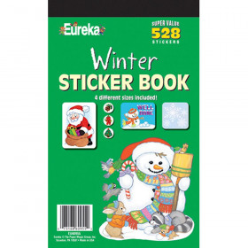Sticker Book Winter 528/Pk