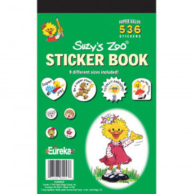Sticker Book Suzys Zoo 536/Pk