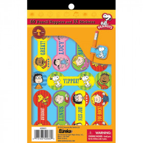 Peanuts Pencil Toppers & Stickers Sticker Book