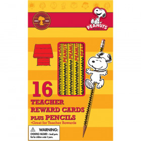 Peanuts Snoopy Way To Go Pencil Rewards with Toppers