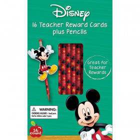 Mickey Pencil Rewards with Toppers