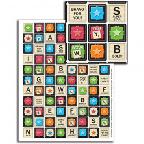 Scrabble Mini Stickers