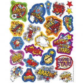 Super Class Sparkle Stickers