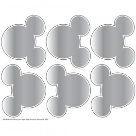 Mickey Mouse Head Shape Scratch Off Stickers