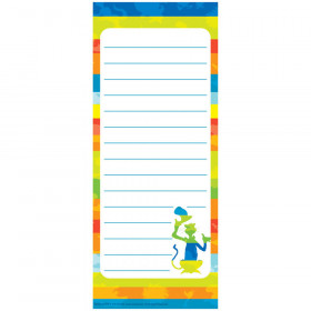 Dr Seuss Spot On Seuss Note Pads 3.5X8.5 Inch
