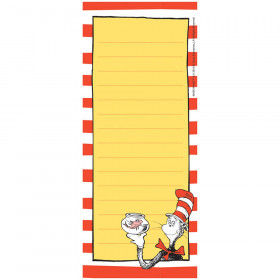 Dr Seuss Classic Note Pads 3.5X8.5In