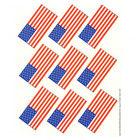 Us Flags Giant Stickers