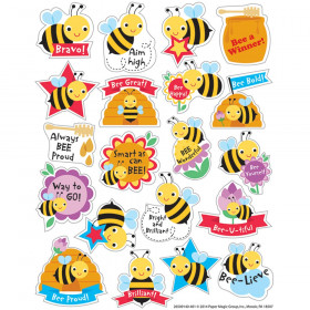 Honey Scented Stickers, Pack of 80