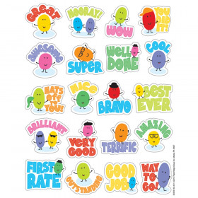 Jelly Beans Scented Stickers, Pack of 80