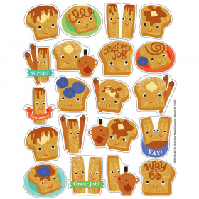 Cinnamon Scented Stickers, Pack of 80