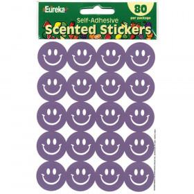 Grape Scented Smile Stickers