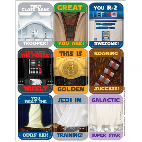 Star Wars Stickers Giant Motivational