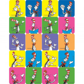 Cat In The Hat Stickers 120Ct