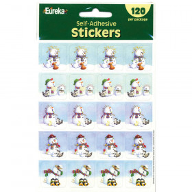 Snowmen Theme Stickers