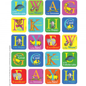 Dr Seuss Abc Theme Stickers