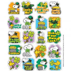 Peanuts St. Patricks Theme Stickers