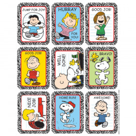 Stickers Peanuts Characters