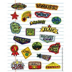 Motivational Doodles Stickers 120Ct