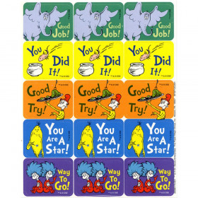Dr. Seuss Success Stickers
