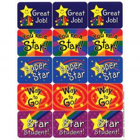 Stars Success Stickers