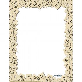 Scrabble Letter Tiles Computer Paper