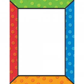 Polka Dots Computer Paper