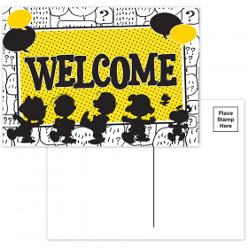 Peanuts Touch Of Class Teacher Cards